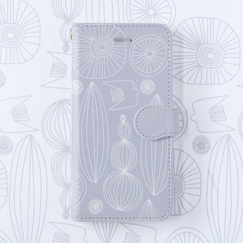【iPhone/Android】自然へようこそ 北欧 手帳型スマホケース ニュアンスカラー Xperia/galaxy/AQUOS/