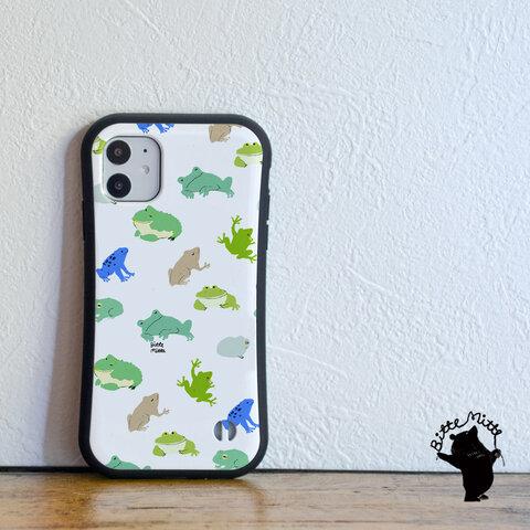 カエルのiPhone グリップケース