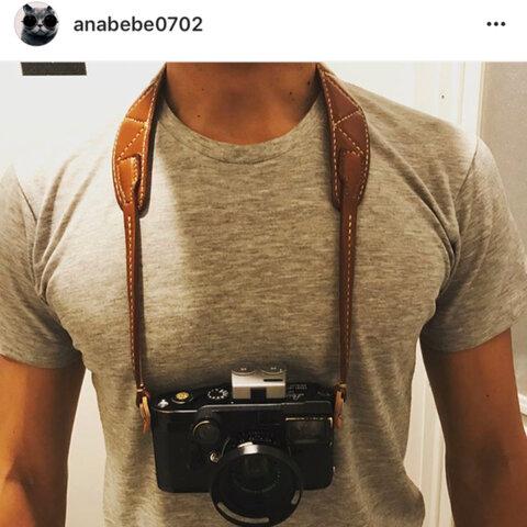 カメラストラップ(キャラメルorブラック)