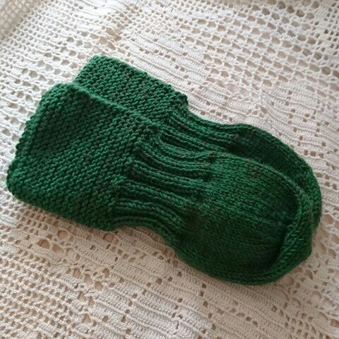 サマーニット*ばあばの手編み靴下