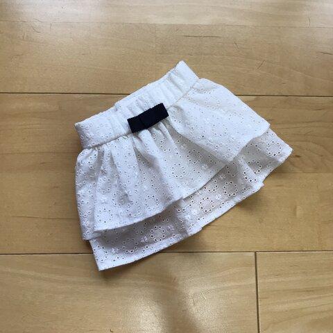 ☆犬服☆ コットンレースのふりふりスカート オーダー ハンドメイド