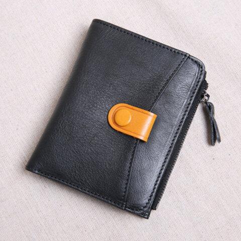 【本革 財布】ミニ財布 小さい財布 折り財布 メンズ レディース