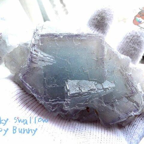 ⚒️ フローライトクラスター標本 結晶 原石 標本 コレクション用 No.3025