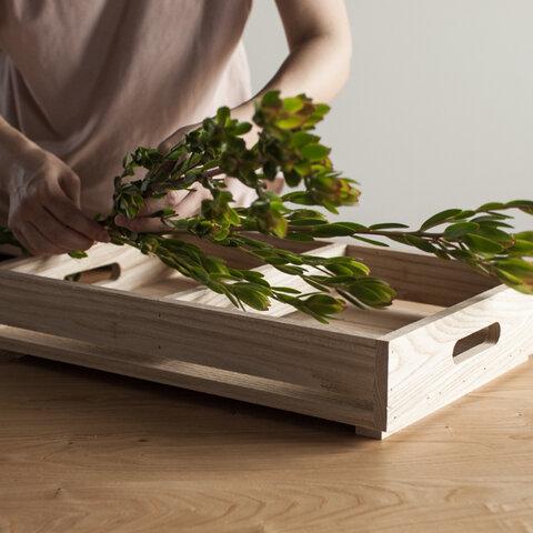 栗の木ボックス(浅)