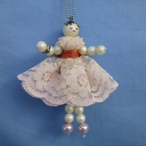 レースドレス人形アクセサリー
