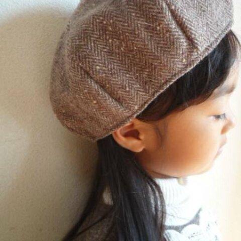 ♥かんたんベレー帽の型紙♥