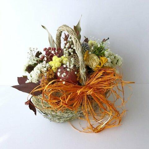 Dryflower natural basket