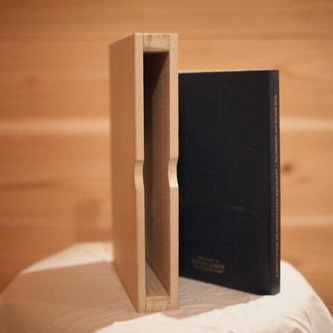 桐材ブックケース paulownia wood Bookcase 聖書 Bible 木箱 ブックカバー