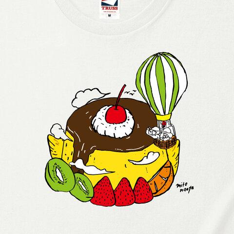未開の地はプリンアラモードTシャツ