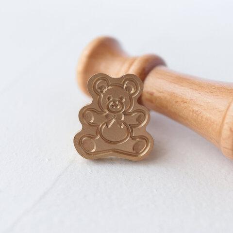 シーリングスタンプ  ┆  Teddy bear   (ヘッドのみ)