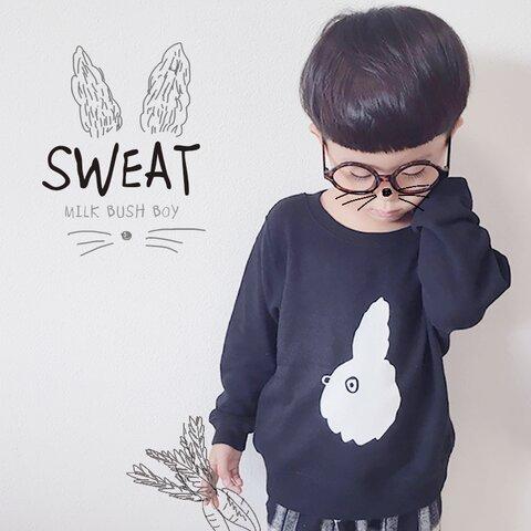 キッズSWEAT profile【BK】