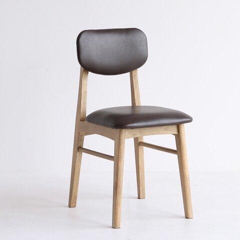 【送料無料】Vintage Chair / ダークブラウン
