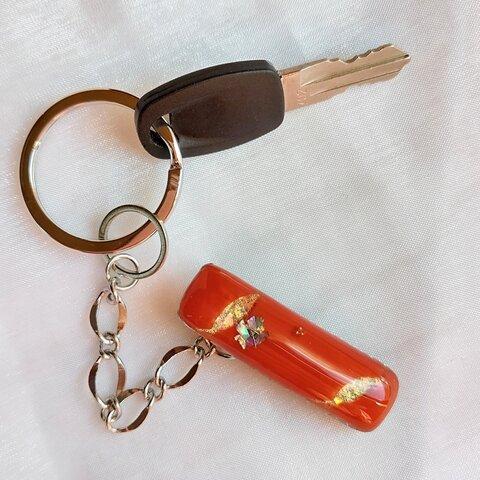 ❮一点物❯オレンジカラーのキークリップ