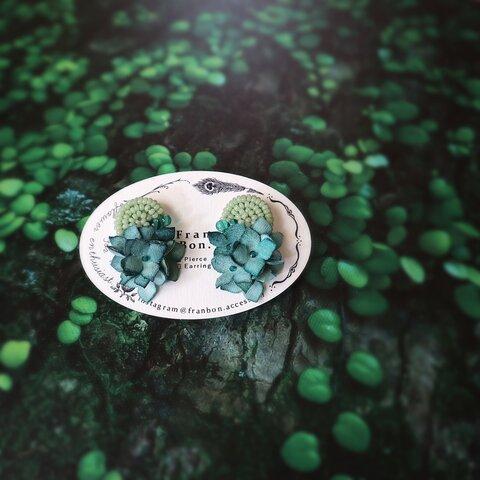 Mintgreenbeads and Lotusflower Pierce