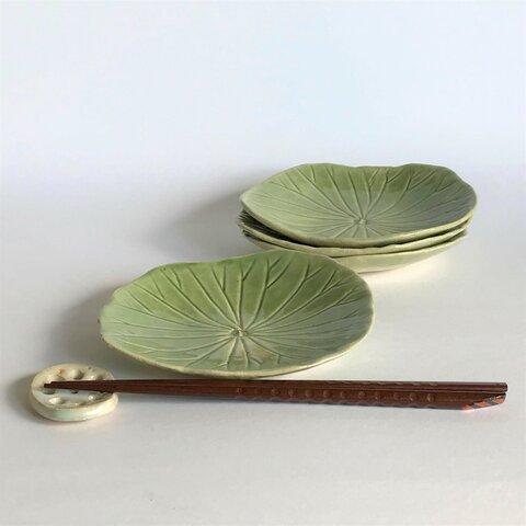 蓮の葉小皿(深め)