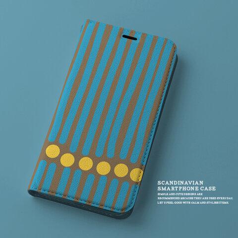 【ベルトなし】手帳型スマホケース/iPhone対応 cara_n129