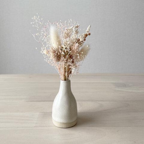 小さな花束と小さな一輪挿しのセットSS