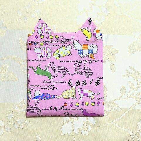 ハッピーパック 3点1000円 ねこ柄ピンク