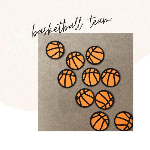 basketball バスケ部さん アルバム素材 12個