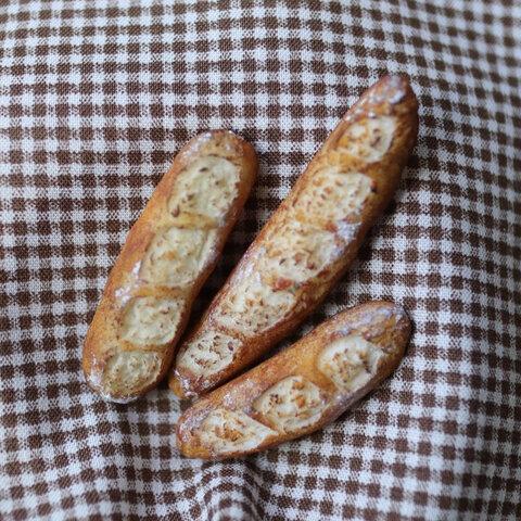 ミニチュアパン:ミニチュアフランスパン:インテリア:ミニチュア