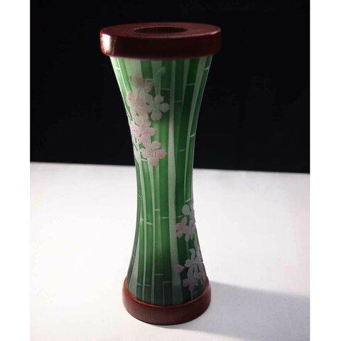 万華鏡「竹と桜」
