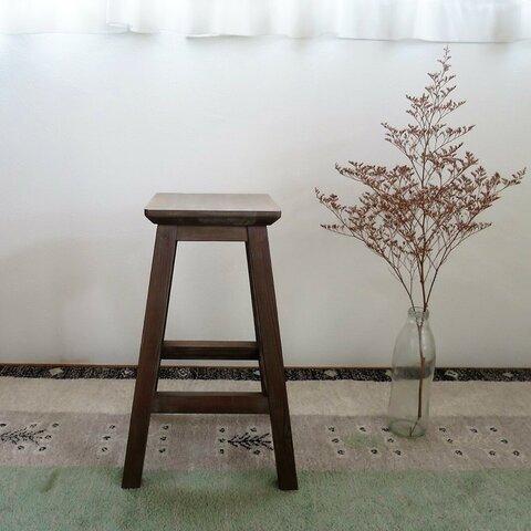 四角椅子 四方転び(ナチュラルグレー)