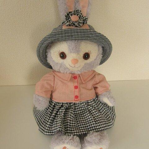 フワッと袖のブラウスとスカート&帽子&お花シュシュ♪ステラルー♪