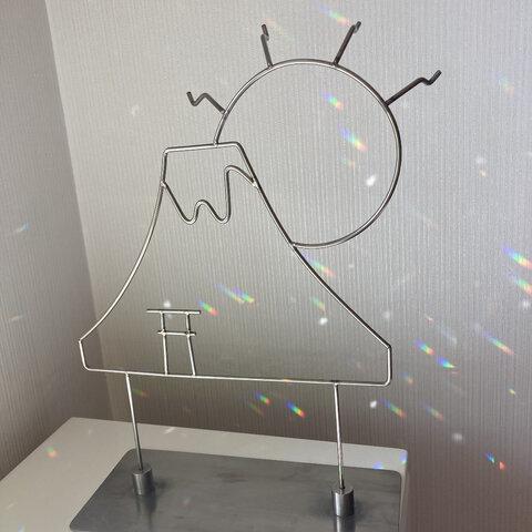 ディスプレイ什器 富士山と太陽