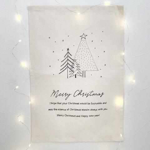 【受注制作】クリスマス タペストリー