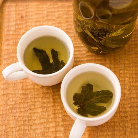 いちじく若葉茶