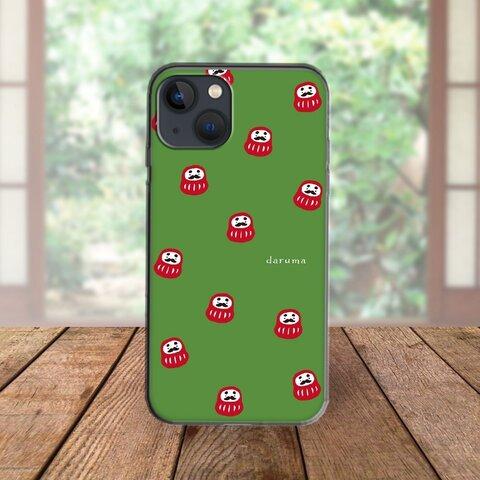 ★全機種対応 スマホケース ★だるまいっぱい iPhone Android