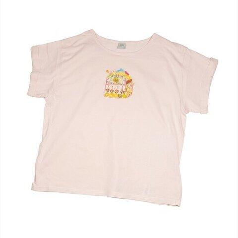 ヘンゼルとグレーテルのお菓子の家 Tシャツ レディース フリー Tcollector