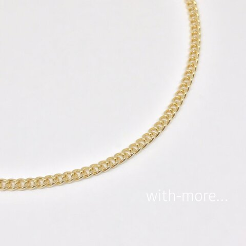【新作】シンプル チェーンネックレス☆ゴールド チョーカー ネックレス