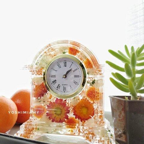 【オーダー】ハーバリウム時計✨無料ラッピング付き