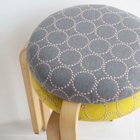 お得な2こセット‼️ミナペルホネン  タンバリン スツール 椅子 dop生地