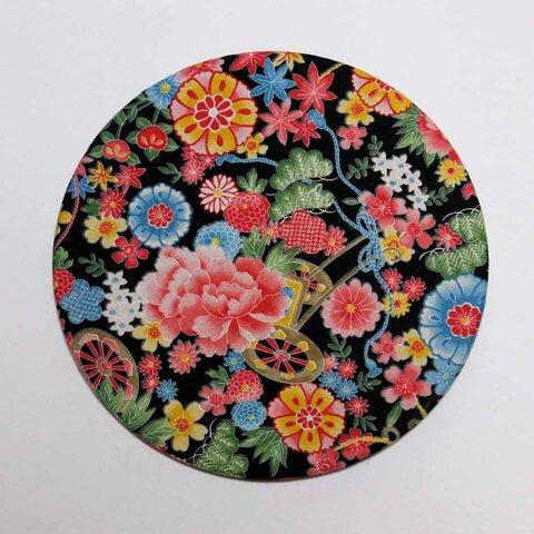 使いやすい!マウスパッド・浴衣のような花柄・丸型