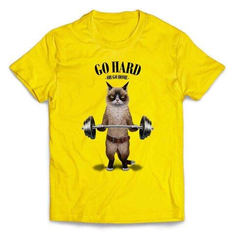半袖Tシャツ 筋トレ やる気がないなら家に帰れ シャム猫 ねこ by FOX REPUBLIC