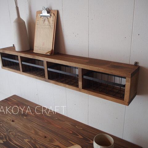 10.Wall Basket Shelf シェルフ/棚/壁掛け