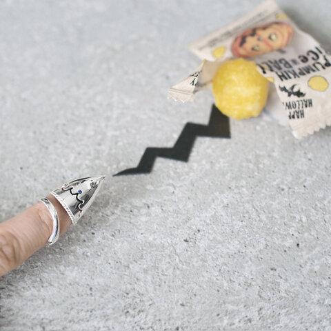 魔女の爪&蛇 ネイルリング シルバー925