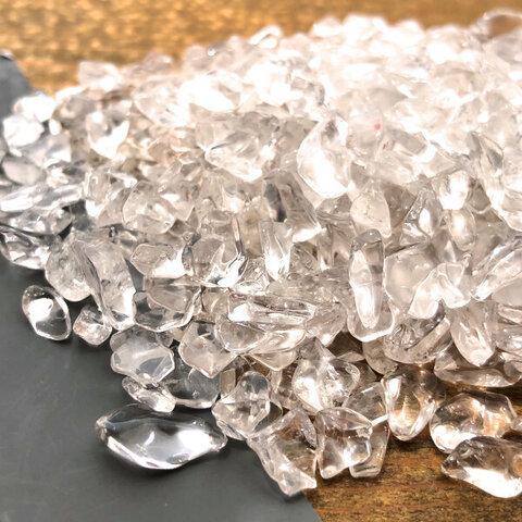 天然水晶さざれ 75g 小粒 透明度高 レジン / テラリウム / ハーバリウム /素材