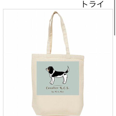キャバリア☆12Oz.キャンバストートバッグ