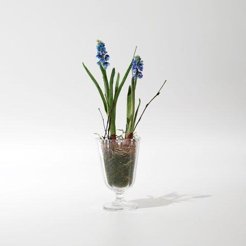 ムスカリのお花 アーティフィシャルフラワー