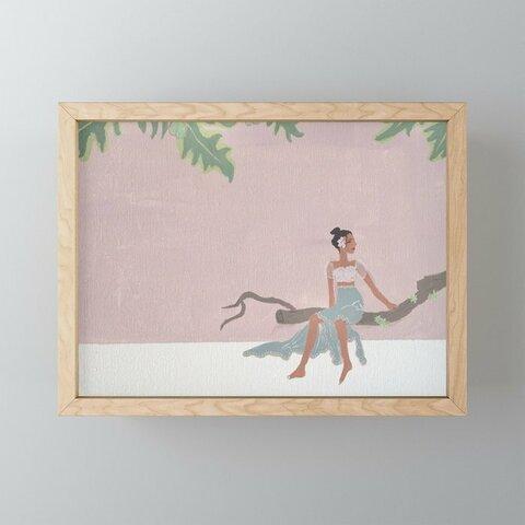 【miniフレームアート】Tree bench