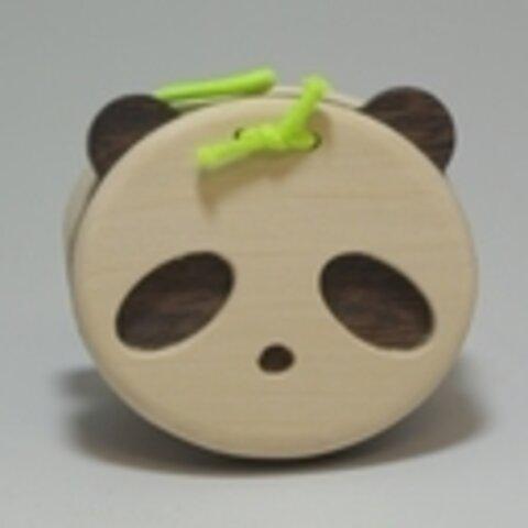 【木製玩具】カスタネット (パンダ)