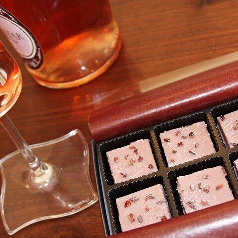 生ショコラ ルビーカカオ<ベルギー製最高級ショコラ&ロゼワイン使用>
