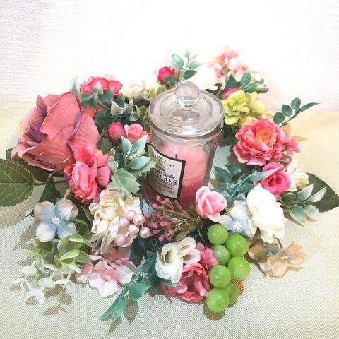 【新作】春の訪れ♪テーブルリース【ピンク系】