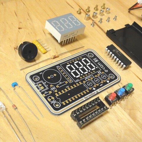 電子工作キット版 電子箱庭『のらぴか』