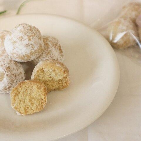 超低糖質♡サクほろスノーボールクッキー 5個(11/8発送分)