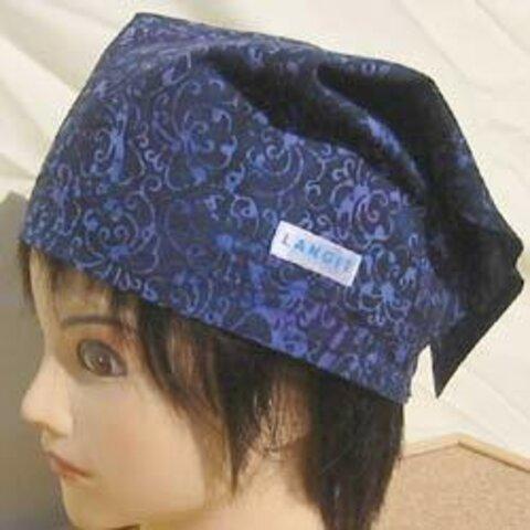 バティック 三角巾帽子 04 53cm~56cm