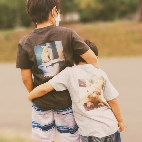 for kids キッズTシャツ みぃとバケツ ×4カラー